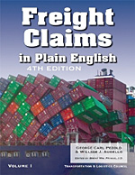 Freight Claims in Plain English 4th Edition